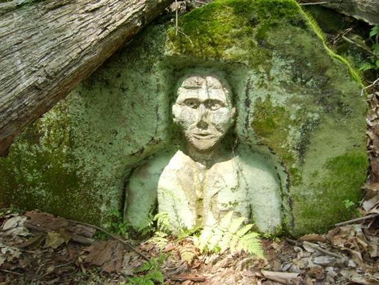 Statue in Baughman park 2