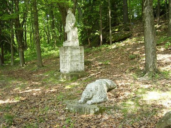 Statue in Baughman park 12