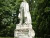 Statue in Baughman park 16