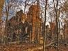 Rendville school ruins
