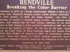 Historical plaque Rendville